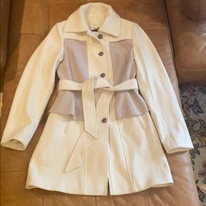 Anthropologie Elevenses Colette trench coat size 8